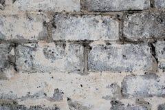 老建筑灰色具体块  库存照片