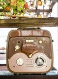 老开盘式的录音机 免版税图库摄影