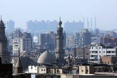 老开罗地平线  免版税库存图片