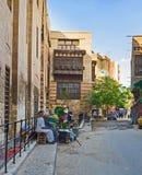 老开罗墙壁  免版税图库摄影