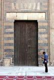 老开罗清真寺 图库摄影