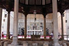 老开罗清真寺 免版税库存照片