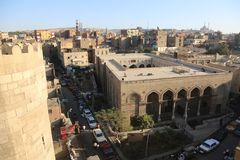 老开罗,埃及 免版税图库摄影