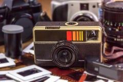 老影片照相机 图库摄影