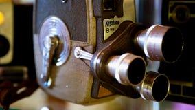 老影片照相机8mm 图库摄影