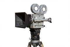 老影片电影摄影机 库存图片