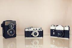 老影片SLR照相机 库存图片