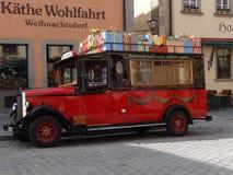 老德国公共汽车 免版税库存图片