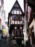老德国房子 库存照片