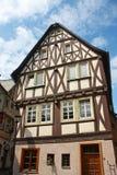 老德国房子 免版税库存图片