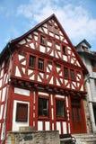 老德国房子 免版税图库摄影