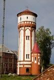 老德国水塔 免版税图库摄影