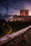 老意大利城堡2 库存照片