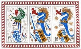 老意大利徽章骑士定货的,米兰,意大利 免版税库存图片