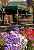 老意粉工厂餐馆在维多利亚, BC 库存图片