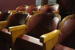 老戏院在华沙 库存照片