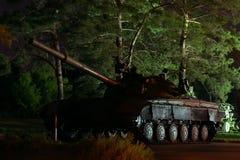 老战后坦克 免版税库存图片
