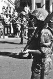 老战士照片 免版税图库摄影