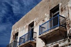 老房子。索维拉。摩洛哥 免版税库存照片