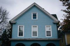 老房子在伊斯顿,马里兰 免版税库存照片