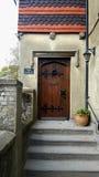 老房子在佩文西,东萨塞克斯郡,英国 免版税库存照片