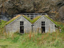 老房子在冰岛 库存照片