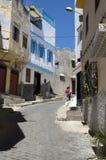 老房子在唐基尔麦地那在摩洛哥 免版税库存照片