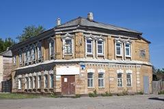 老房子在坦波夫 免版税库存图片