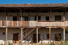 老房子在希腊 免版税库存照片