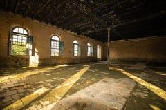 老房子在废墟,有些神奇和被困扰的地方 库存图片