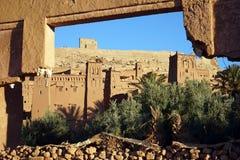 老房子在摩洛哥 免版税库存照片