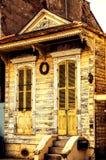 老房子在新奥尔良 免版税库存图片