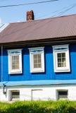 老房子在村庄 库存图片