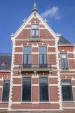 老房子在温斯霍滕的中心 库存照片