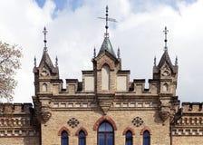老房子在维尔纽斯 免版税库存图片
