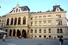 老房子在肖普朗(Ã-denburg),匈牙利 图库摄影