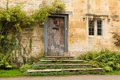 老房子在英国的Cotswold区 图库摄影