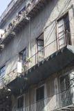 老房子在巴勒莫 免版税库存照片