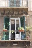老房子在巴勒莫 免版税库存图片