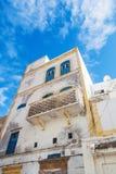 老房子在索维拉,摩洛哥 免版税库存照片