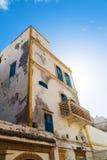 老房子在索维拉,摩洛哥 库存图片