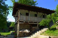 老房子在Etar,保加利亚 免版税图库摄影
