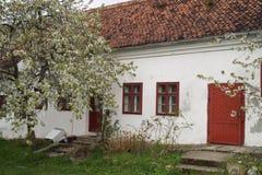 老房子在Schei区1773,罗马尼亚 免版税库存照片