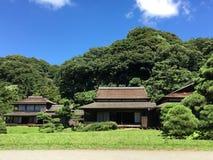 老房子日本 库存图片