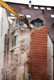 老房子的破坏 库存照片