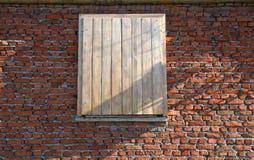 老房子窗口在班斯科, 2015年2月17日的保加利亚 免版税库存照片