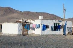 老房子蒙古语 免版税库存照片