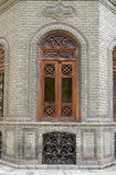 老房子视窗 图库摄影