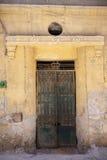 老房子门在开罗,埃及 图库摄影