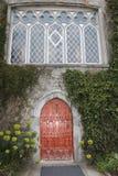 老房子门面在欧洲 图库摄影